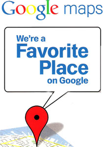 Favorite Place on Google.