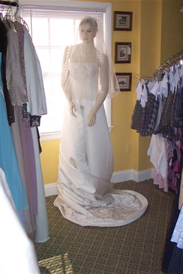 wedding dress consignment shops in maryland of