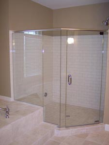 Custom Shower Doors Montgomery Co MD Bethesda Potomac Rockville MD - Bathroom shower door repair