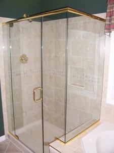Custom Shower Doors Montgomery Co Md Bethesda Potomac